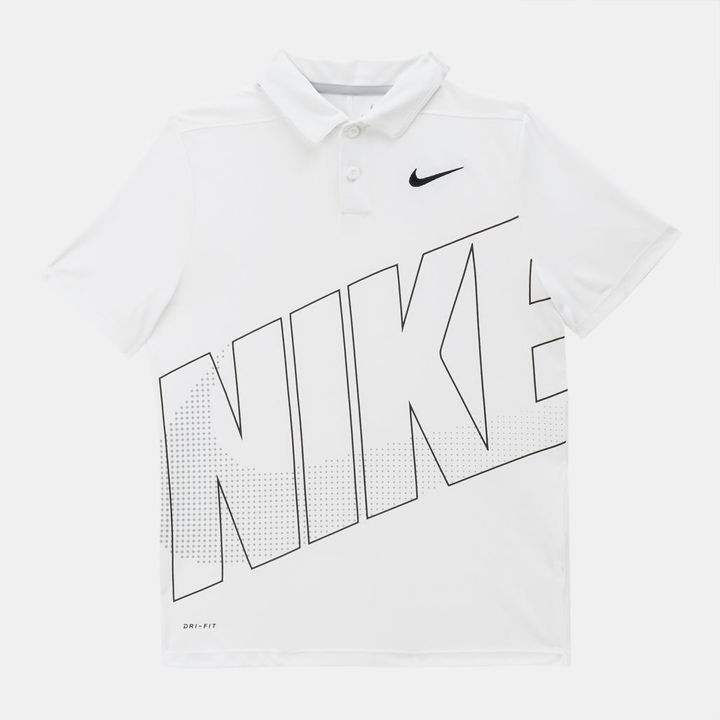 Nike Golf Kids' Essential Graphic Polo T-Shirt