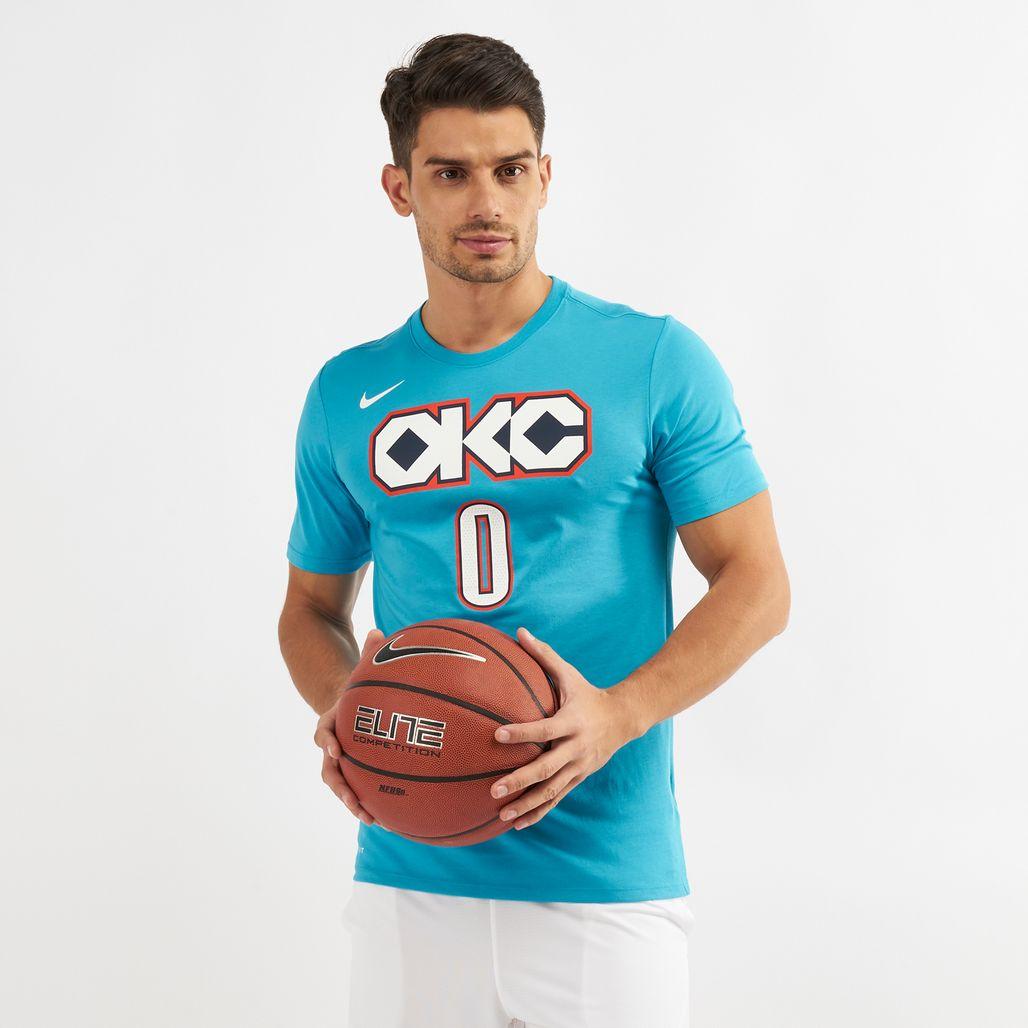 Nike NBA Oklahoma City Thunder Rusell Westbrook Dri-FIT City Edition T-Shirt