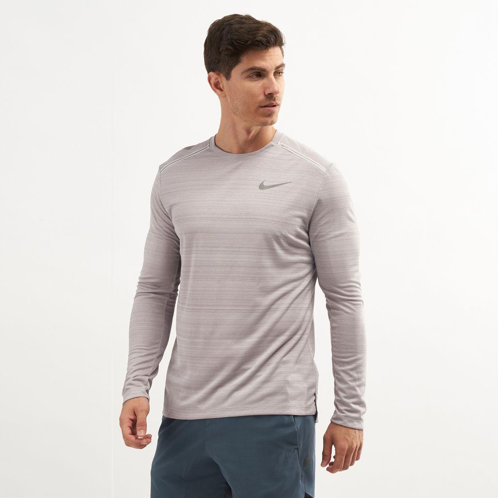Nike Men's Dri-FIT Miler Long Sleeve Top