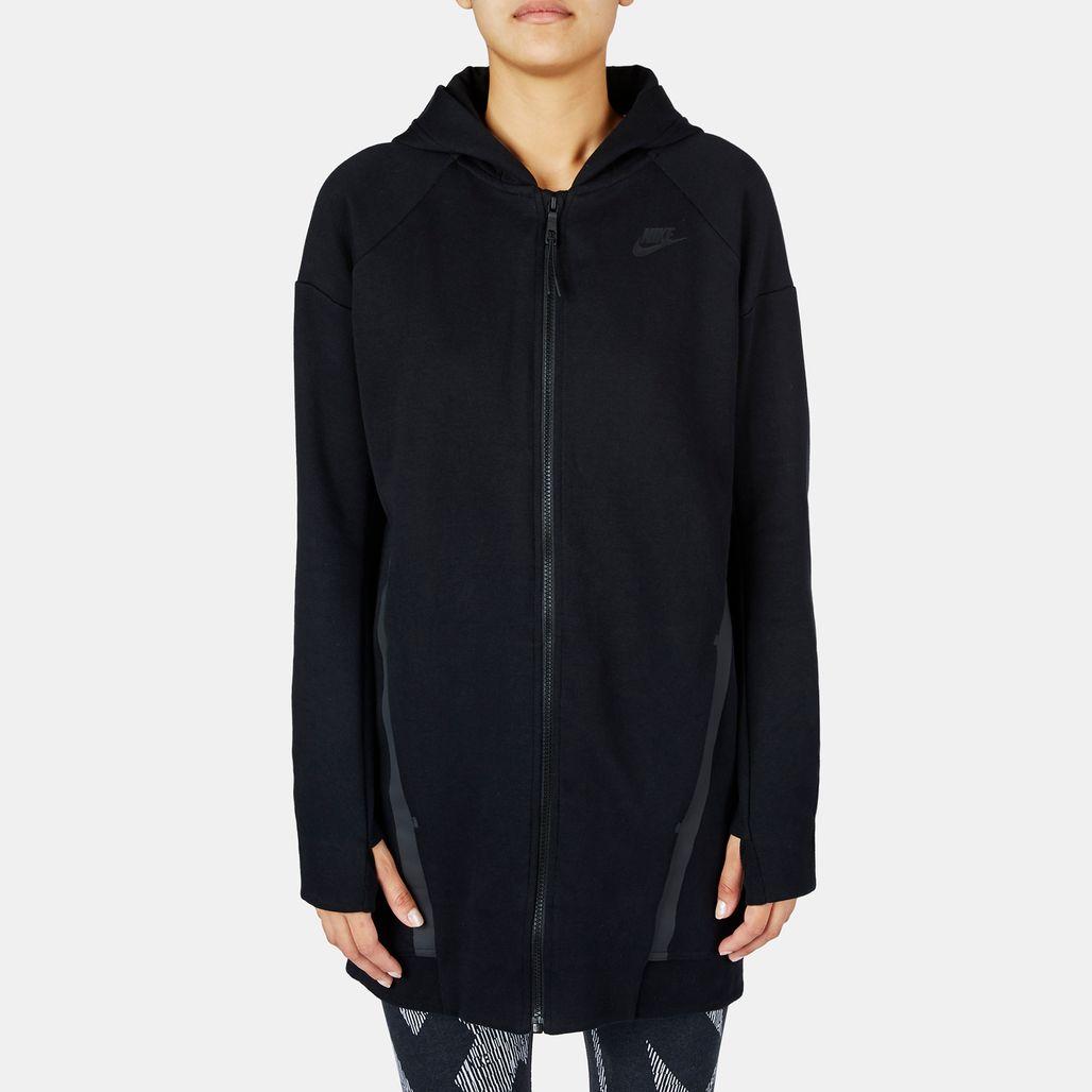 Nike Tech Fleece Cocoon Mesh Hoodie