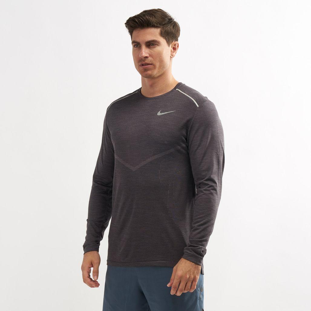 Nike Men's TechKnit Ultra Long Sleeve Top