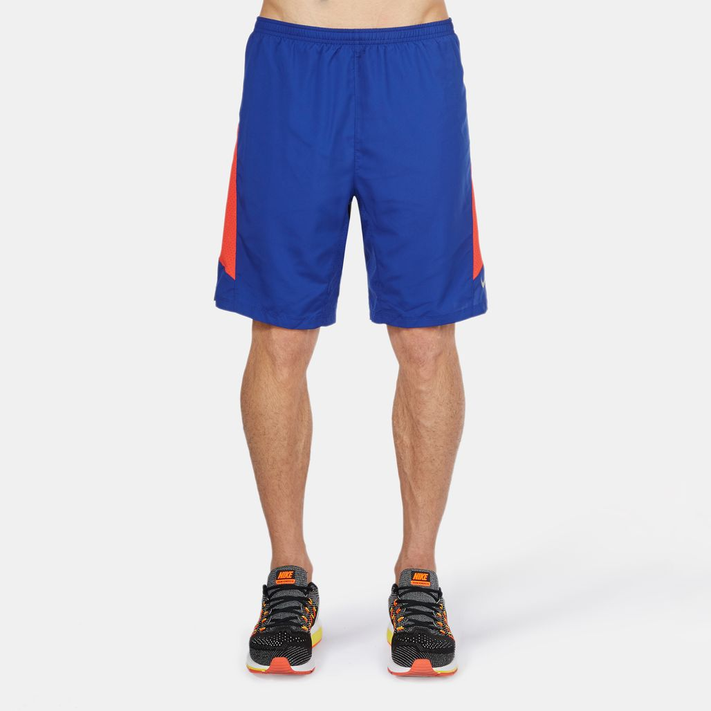 "Nike Pursuit 2-in-1 9"" Running Shorts"
