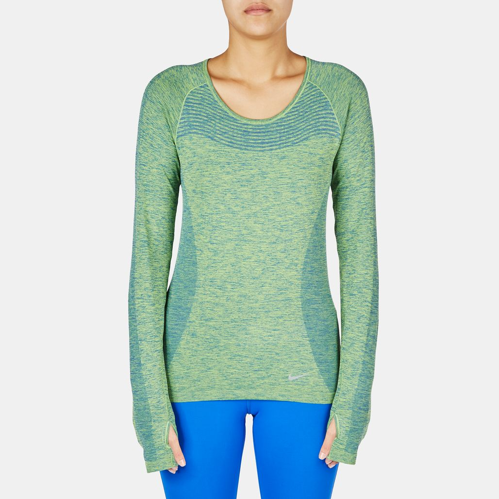 Nike Dri-FIT Knit Long Sleeve T-Shirt