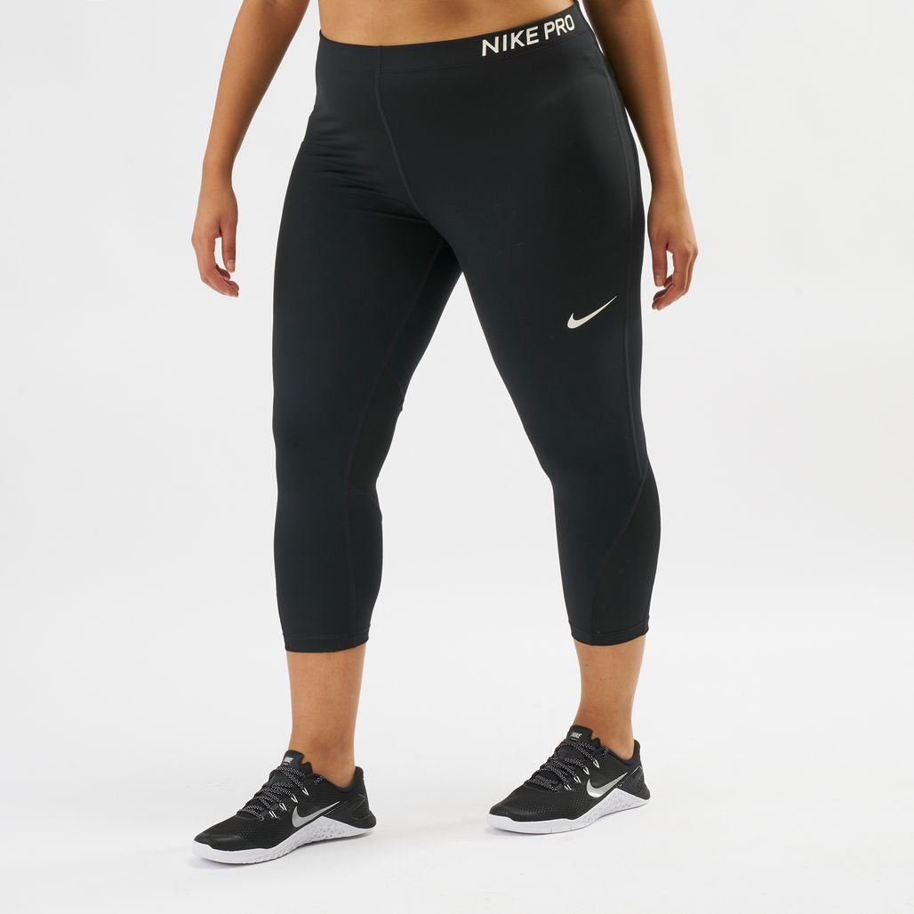 b46687a06ed Nike Pro Training Capri Leggings (Plus Size)
