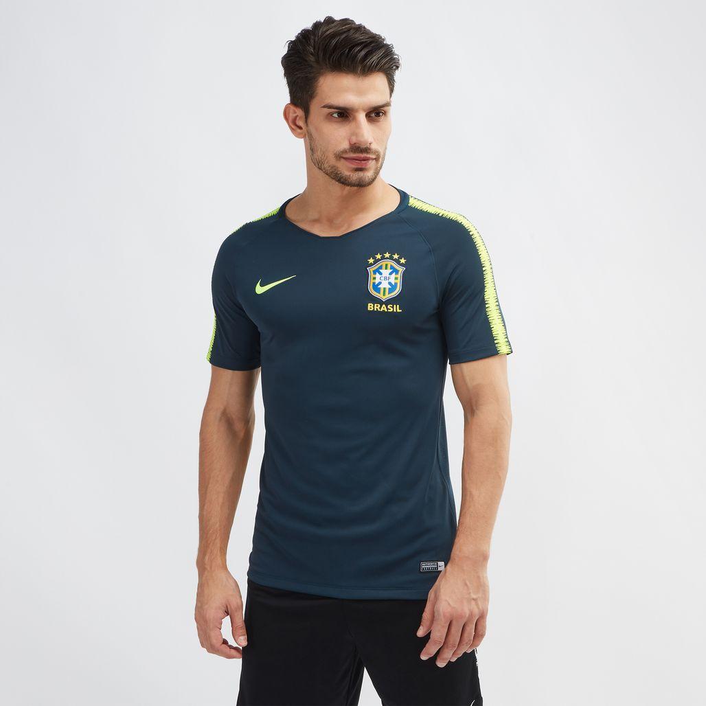 Nike Breathe Brazil Squad Football Top