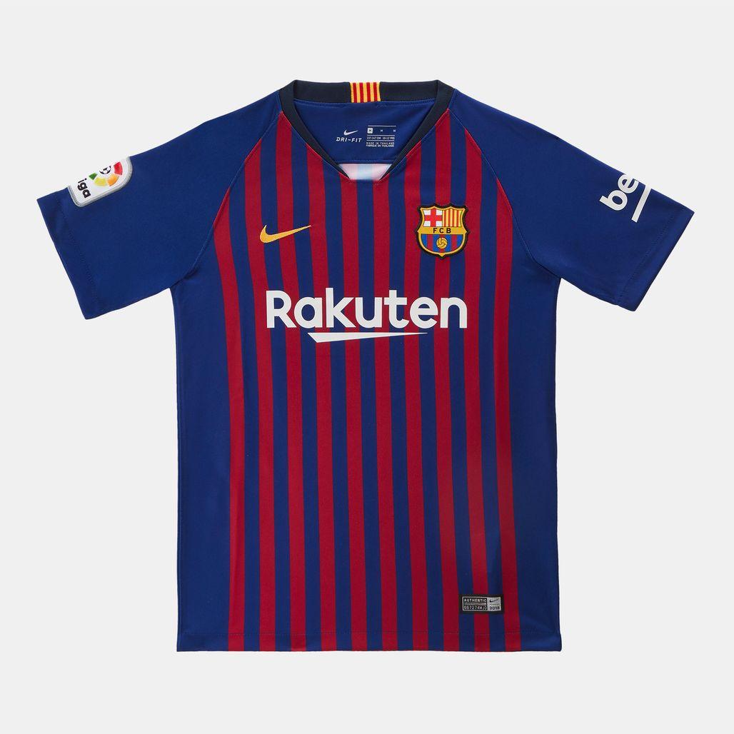 Nike Kids' FC Barcelona Stadium Home Jersey 2018/19