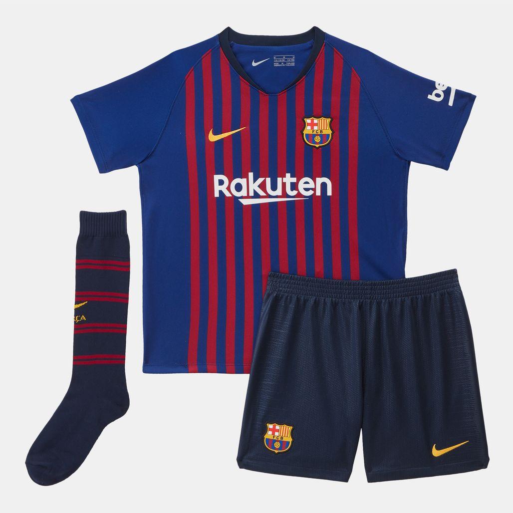 Nike Kids' Breathe FC Barcelona Home Football Kit (Younger Kids)