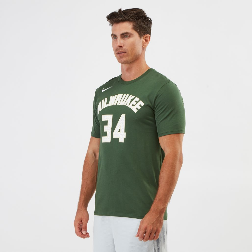 Nike Dry NBA Milwaukee Bucks Giannis Antetokounmpo T-Shirt