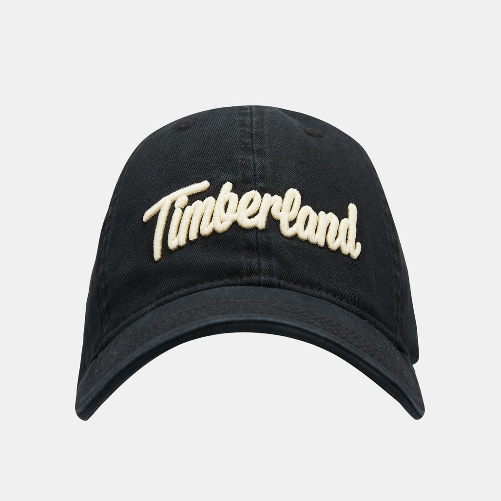 Timberland Men's Midland Beach Logo Baseball Cap - Black