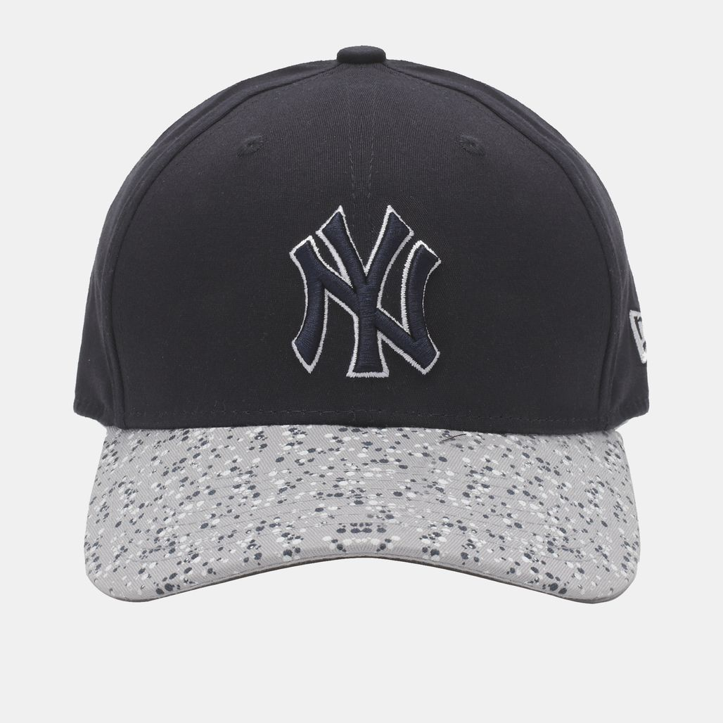 New Era Speckle Peak NY Yankee Cap - Blue