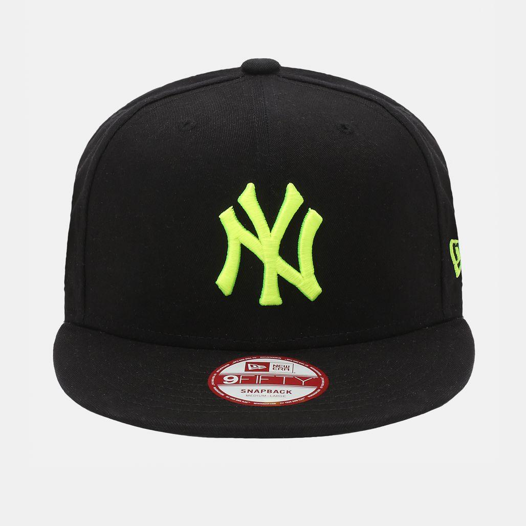 New Era Seasonal Basic NY Yankee Cap - Black