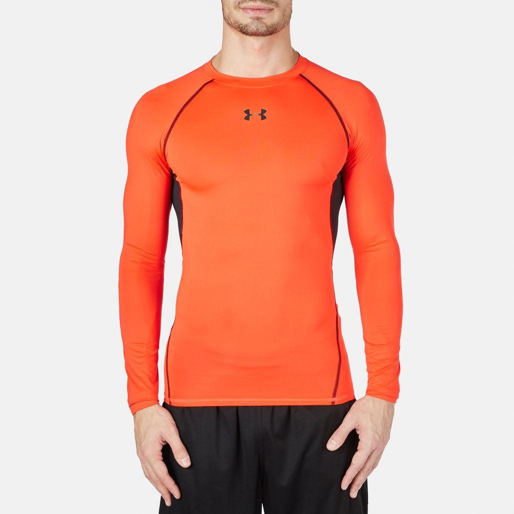 Under Armour HeatGear® Long Sleeve Compression T-Shirt
