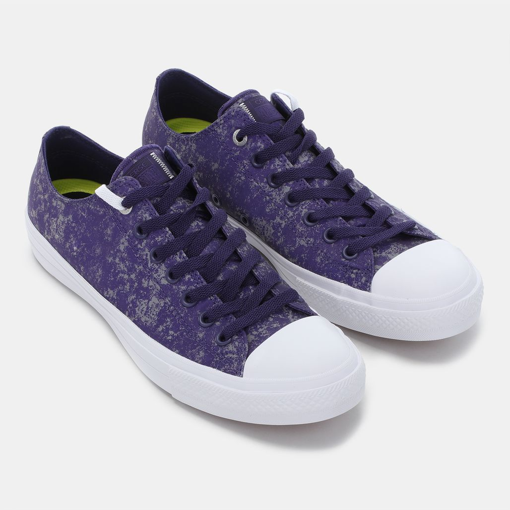 e12bd08ff3e Shop Purple Converse Chuck Taylor All Star II Reflective Wash Shoe ...