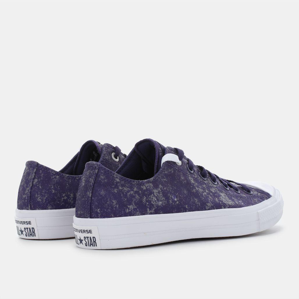Shop Purple Converse Chuck Taylor All Star II Reflective Wash Shoe ... 52cf37328