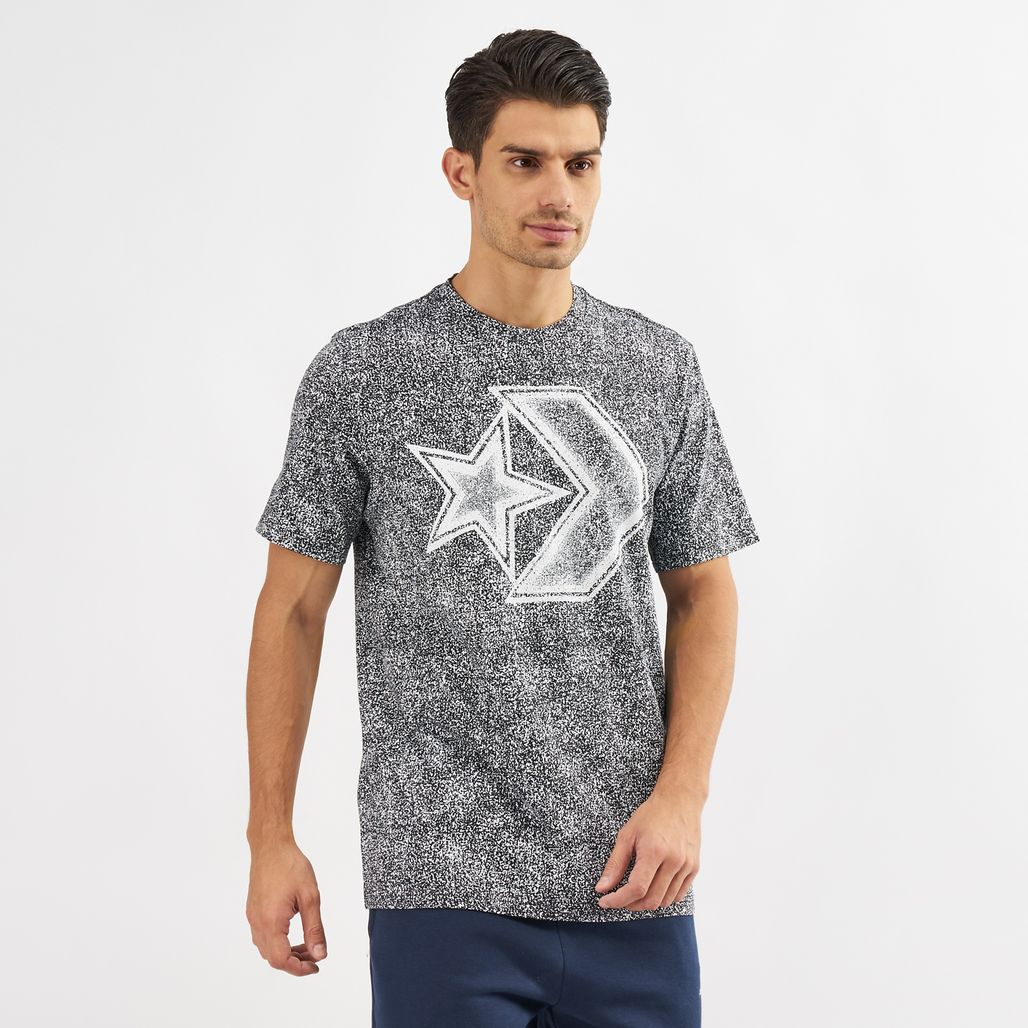 Converse Distressed Star Chevron T-Shirt