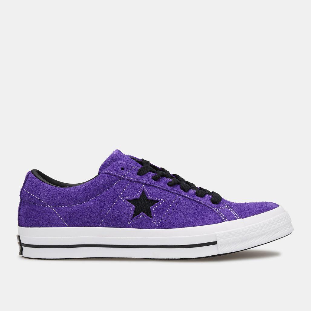 Converse One Star Dark Star Vintage Suede Low Top Shoe