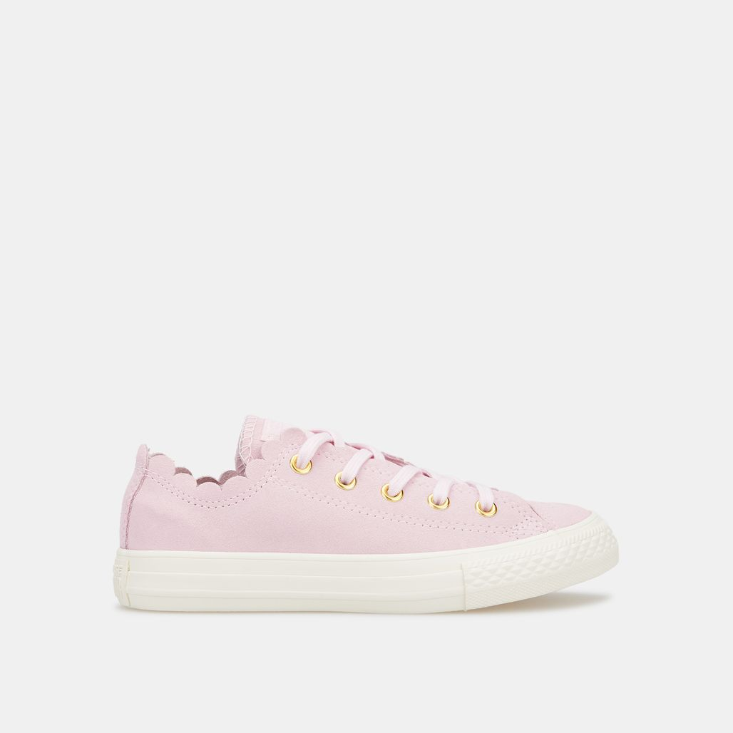 Converse Kids' Chuck Taylor All Star Frilly Thrills Shoe (Older Kids)