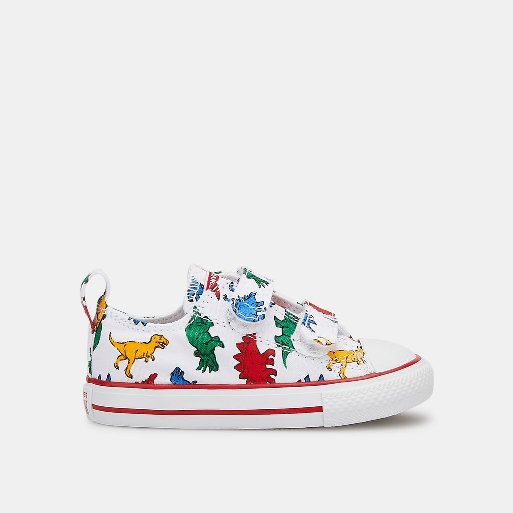 Converse Kids' Chuck Taylor All Star Dinoverse 2V Low Top Shoe (Baby & Toddler)
