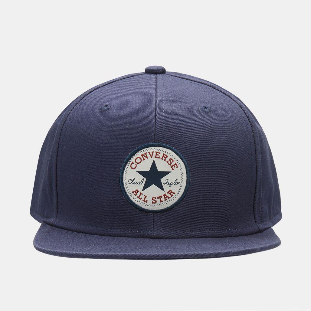 Converse Chuck Patch Snapback Cap - Blue