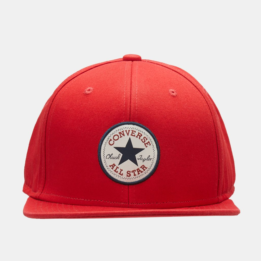 Converse Chuck Patch Snapback Cap - Red