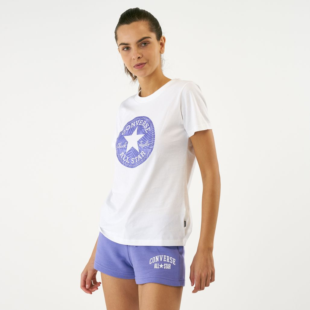 Converse Women's Chuck Taylor Palm Patch T-Shirt