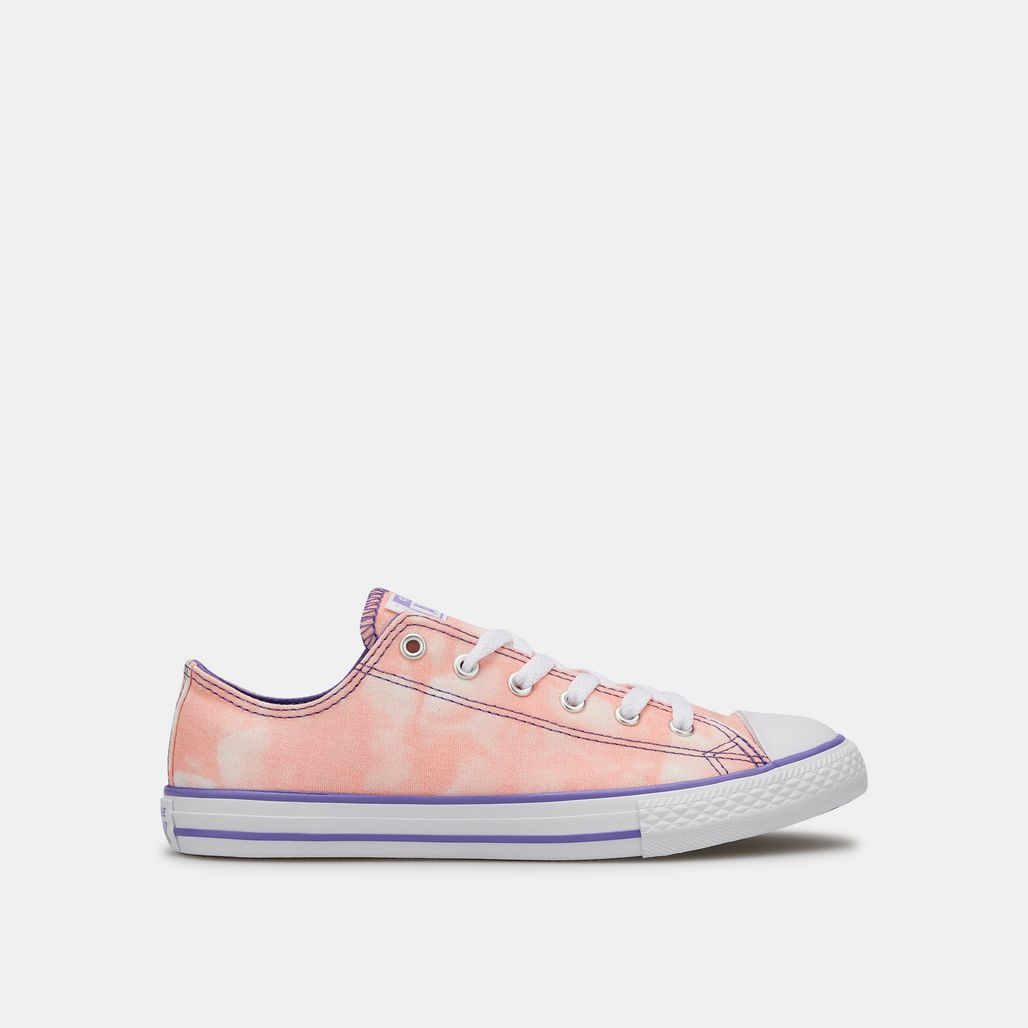 حذاء تشاك تيلور اول ستار تاي-دايد برقبة قصيرة من كونفرس للاطفال الكبار