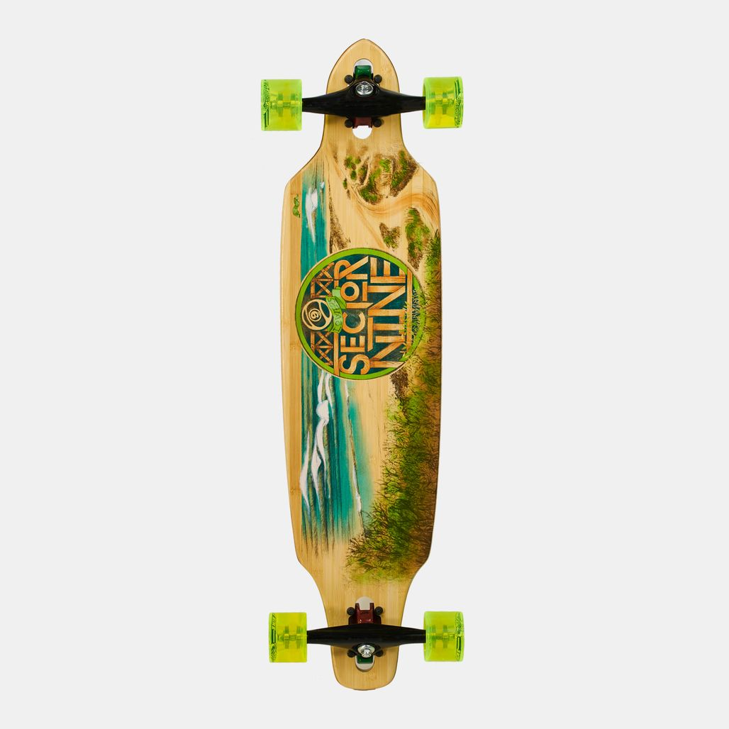 Sector 9 Mini Lookout Complete Assorted Longboard - Yellow