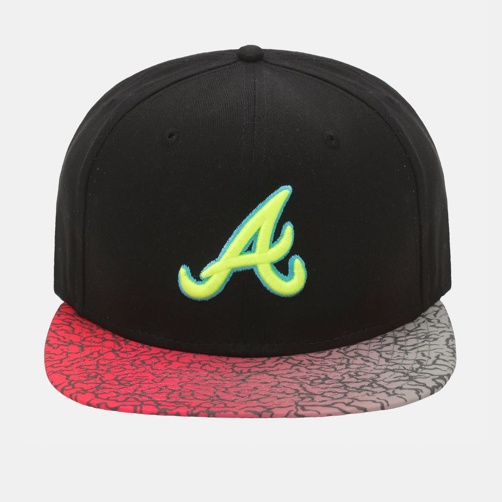 New Era Sneak Vize Atlanta Braves Cap - Black