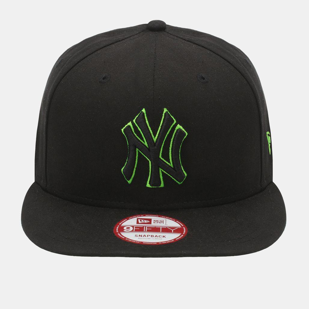New Era Pop Basic Outline LA Dodgers Cap - Black
