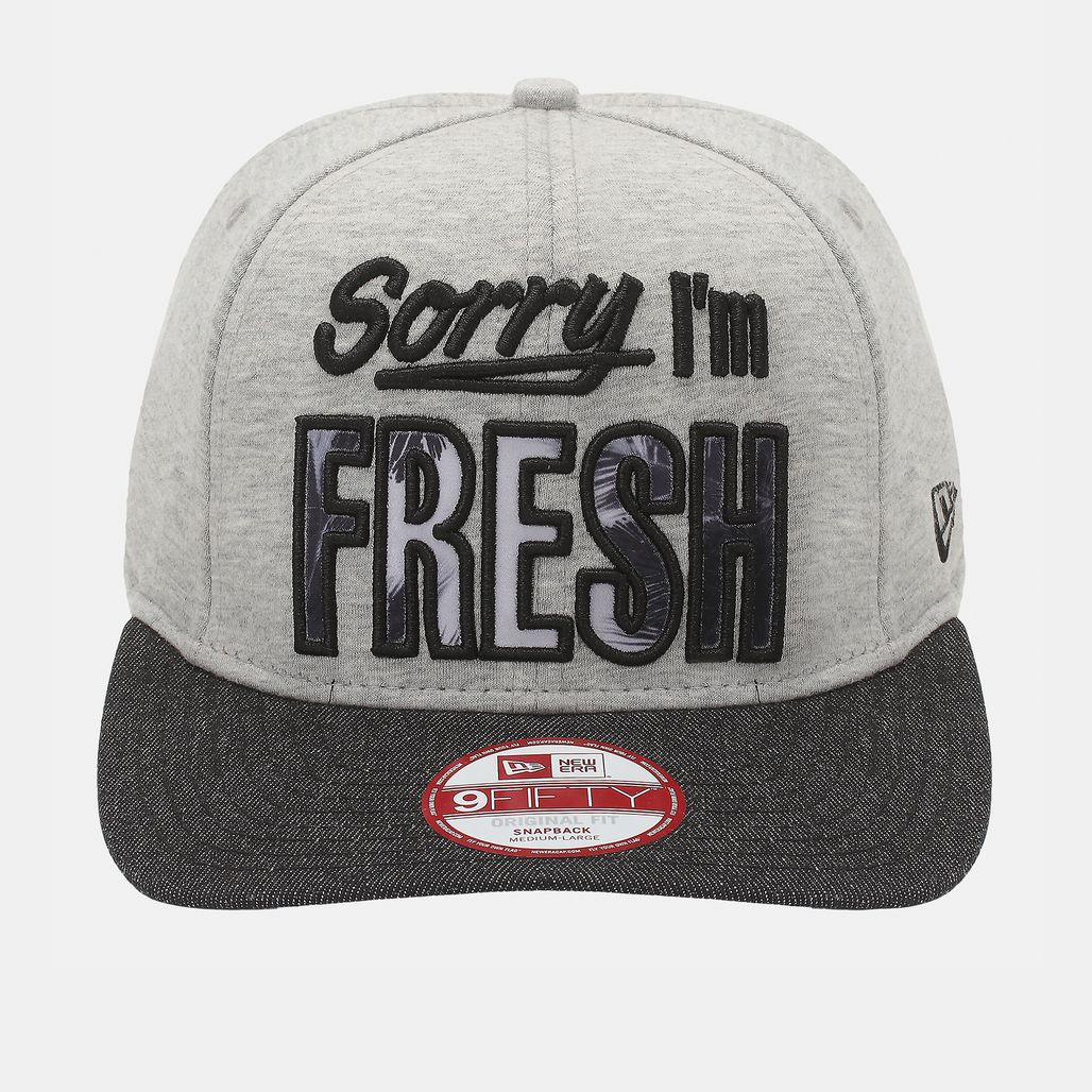New Era Fresh Infill Cap - Grey