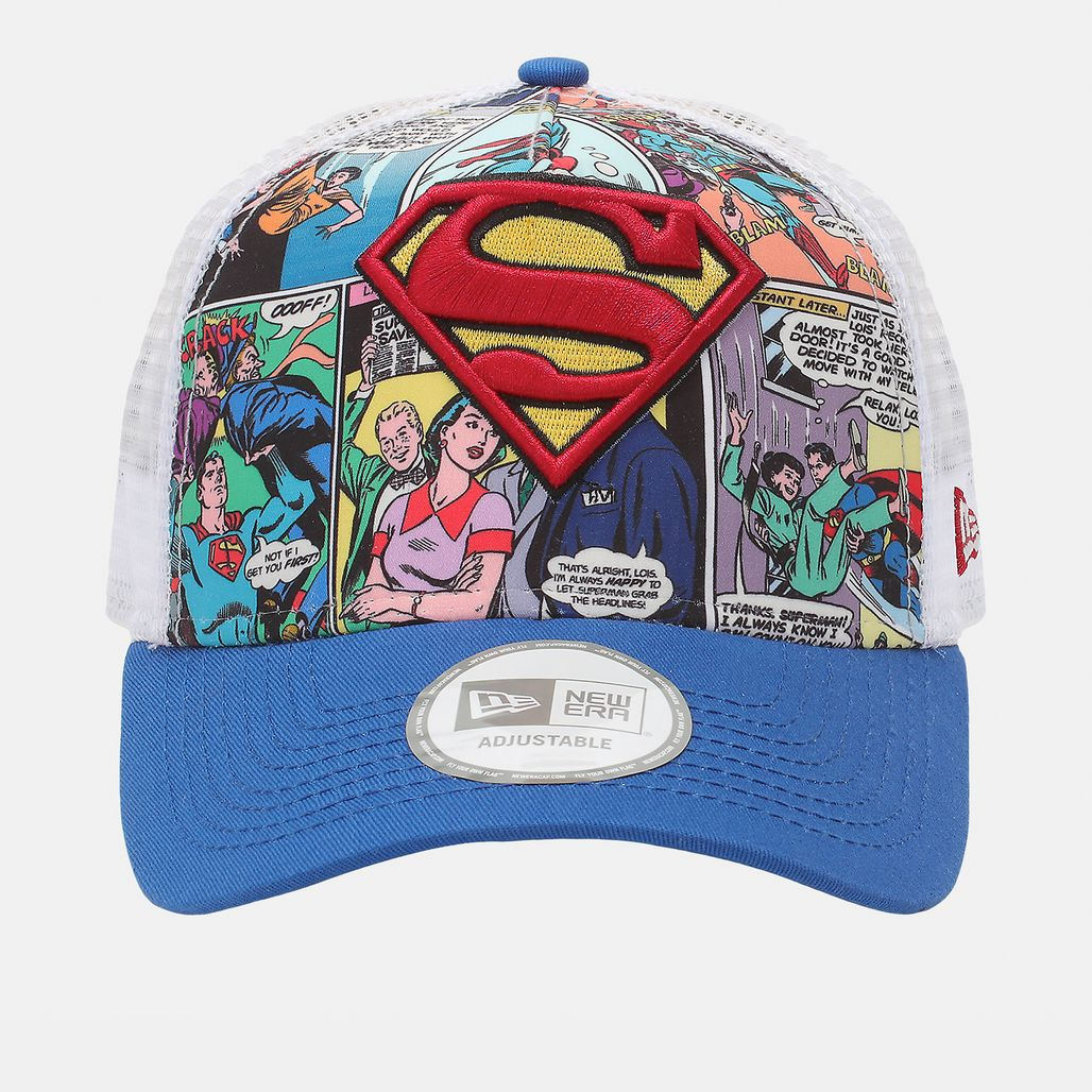 New Era Comic Truck Superman Cap - Blue