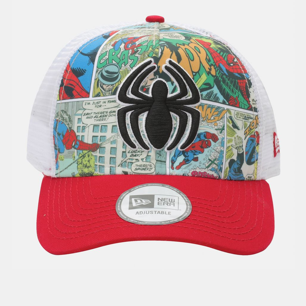 New Era Comic Truck Spiderman Cap - Red