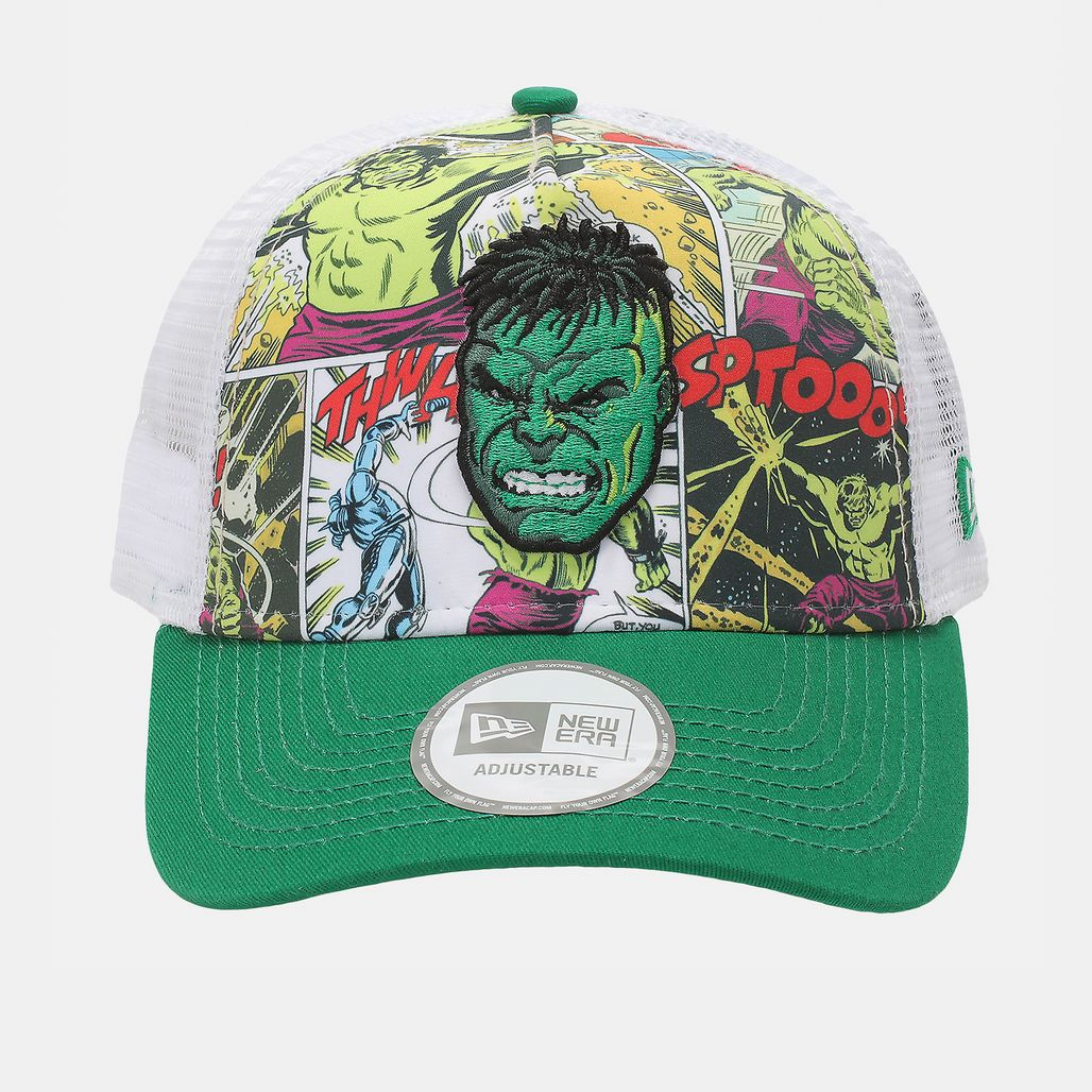 New Era Comic Truck Incredible Hulk Cap - Green
