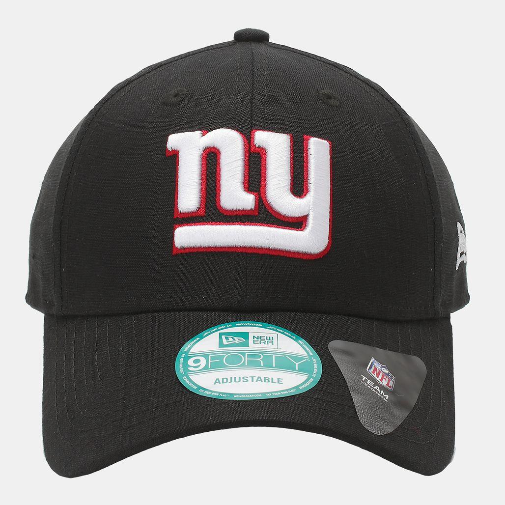 New Era Black Base NFL New York Giants Cap - Black