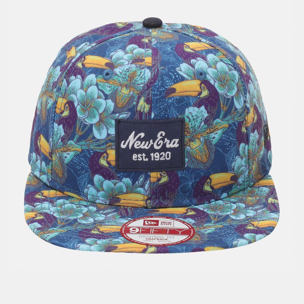 New Era Tropical 9Fifty Cap - Blue