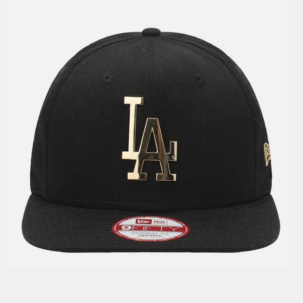 New Era Metal Badge Original LA Dodgers Cap - Black