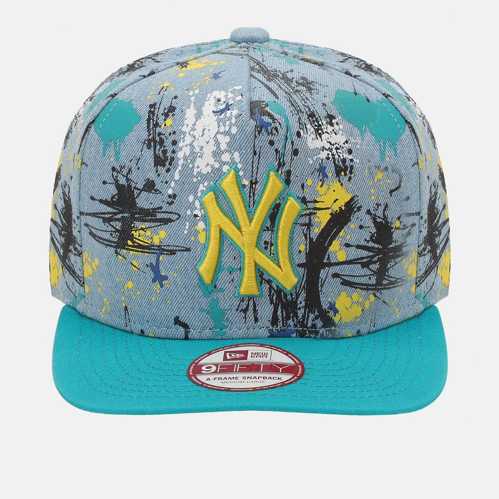 New Era NY Yankees SA Crown Cap - Blue