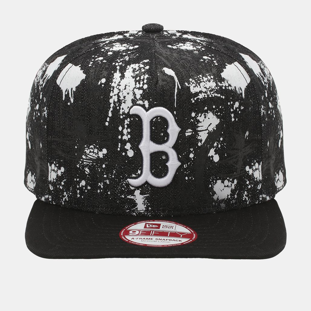 New Era Boston Red Sox SA Crown Cap - Black