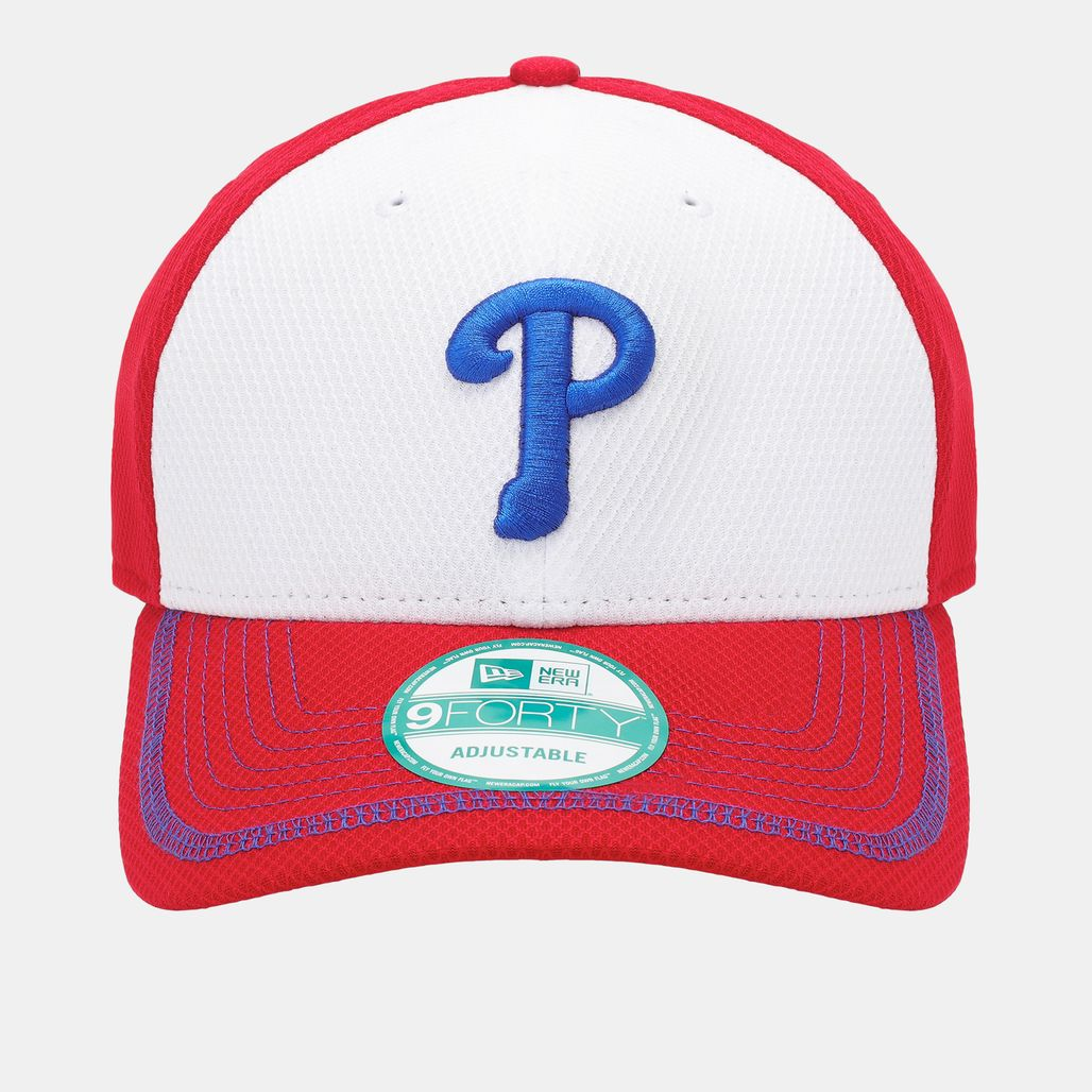 New Era Diamond Stitch Phillies Cap - Red