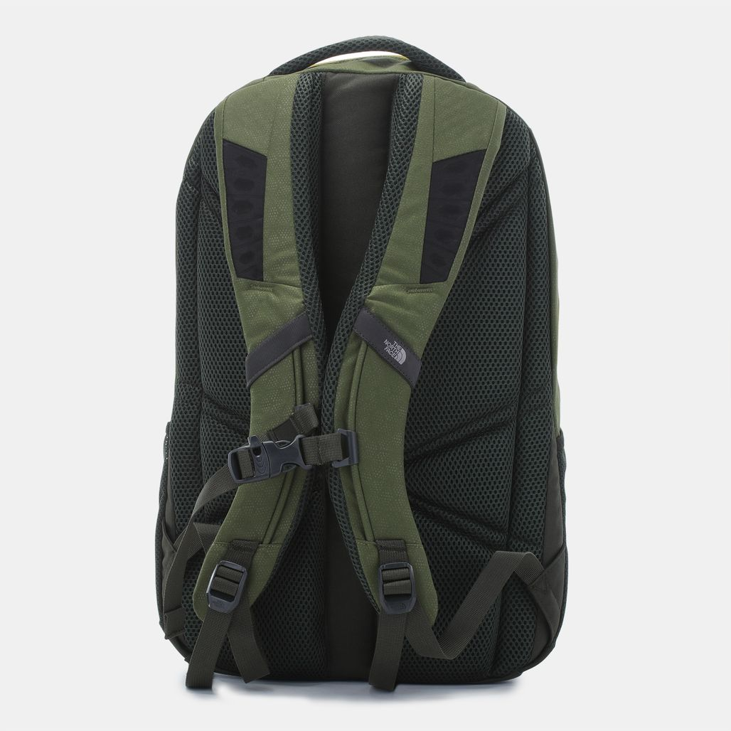 North face backpack jester green