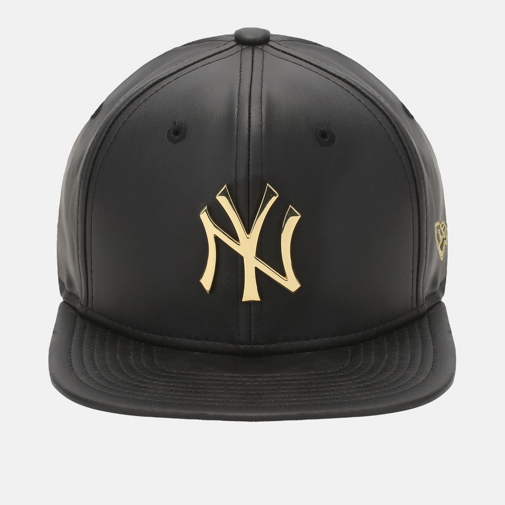 New Era Metal Prime NY Yankees Cap - Black
