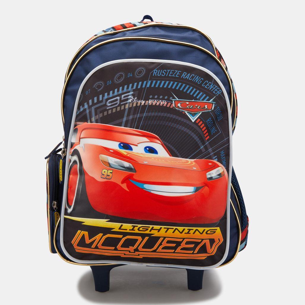 حقيبة ترولي ديزني كارز من تروكير للاطفال - متعدد