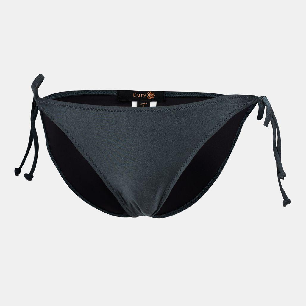 Lurv Making Ripples Tie Bikini Bottom
