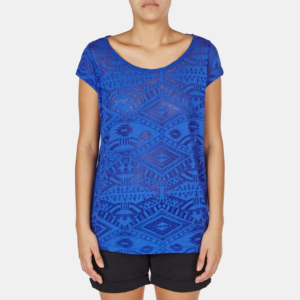 Rip Curl Tribal Myth Burnout T-Shirt