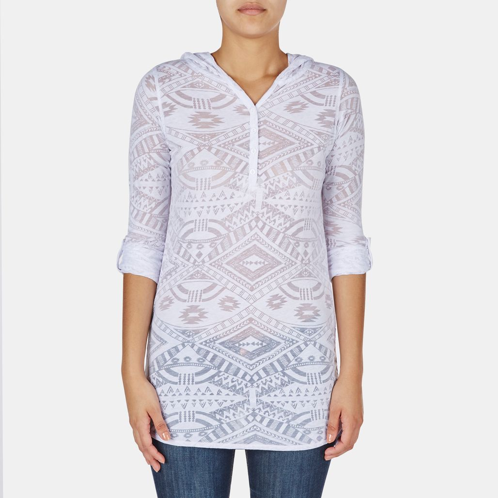 Rip Curl Tribal Myth Hooded T-Shirt