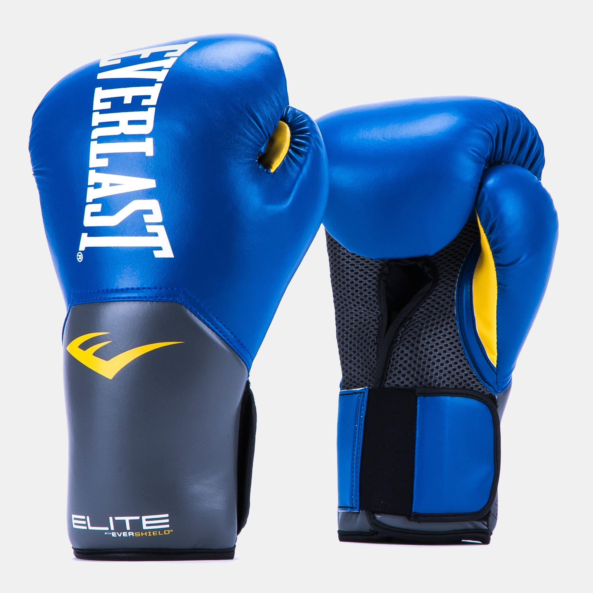 Everlast Pro Style Elite 14oz Training Gloves - Red 86d025bc2cca
