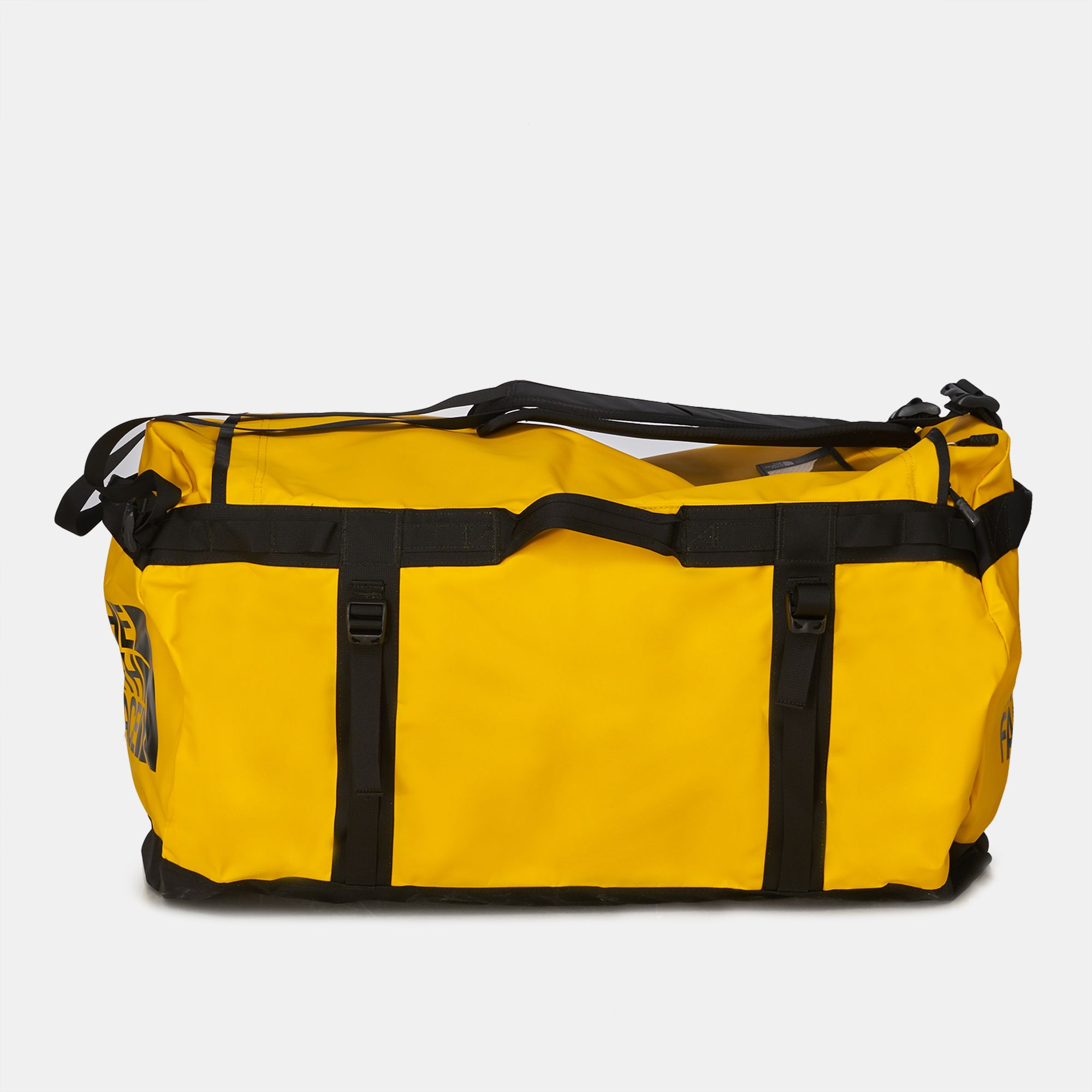 Shop Yellow The North Face Base Camp Duffel Bag - Extra Large for ... 3780129aa