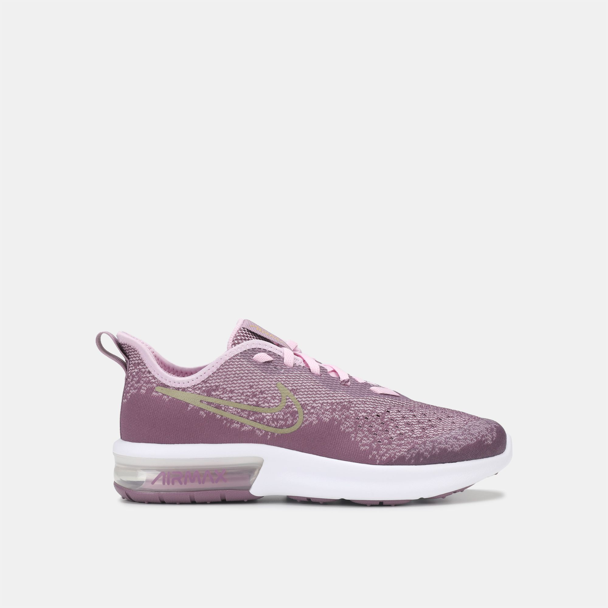 separation shoes d7581 3ca74 Shop Purple Nike Kids  Air Max Sequent 4 Shoe (Grade School Girls ...
