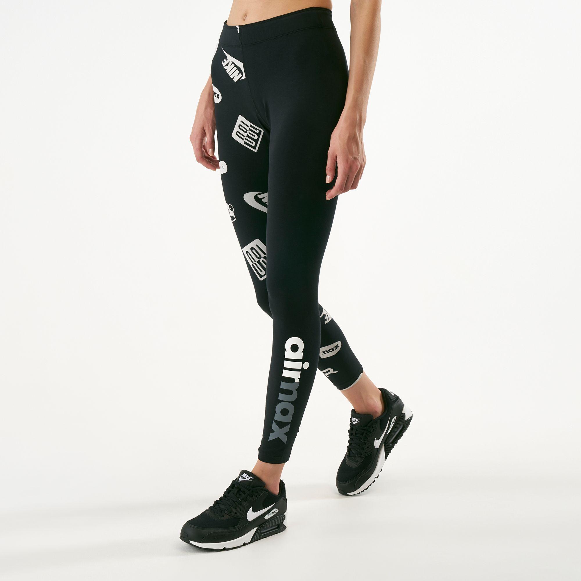 timeless design e8ec9 72433 Nike Women s Sportswear Leg-A-See Air Max Leggings   Full Length Leggings    Leggings   Clothing   Womens   SSS