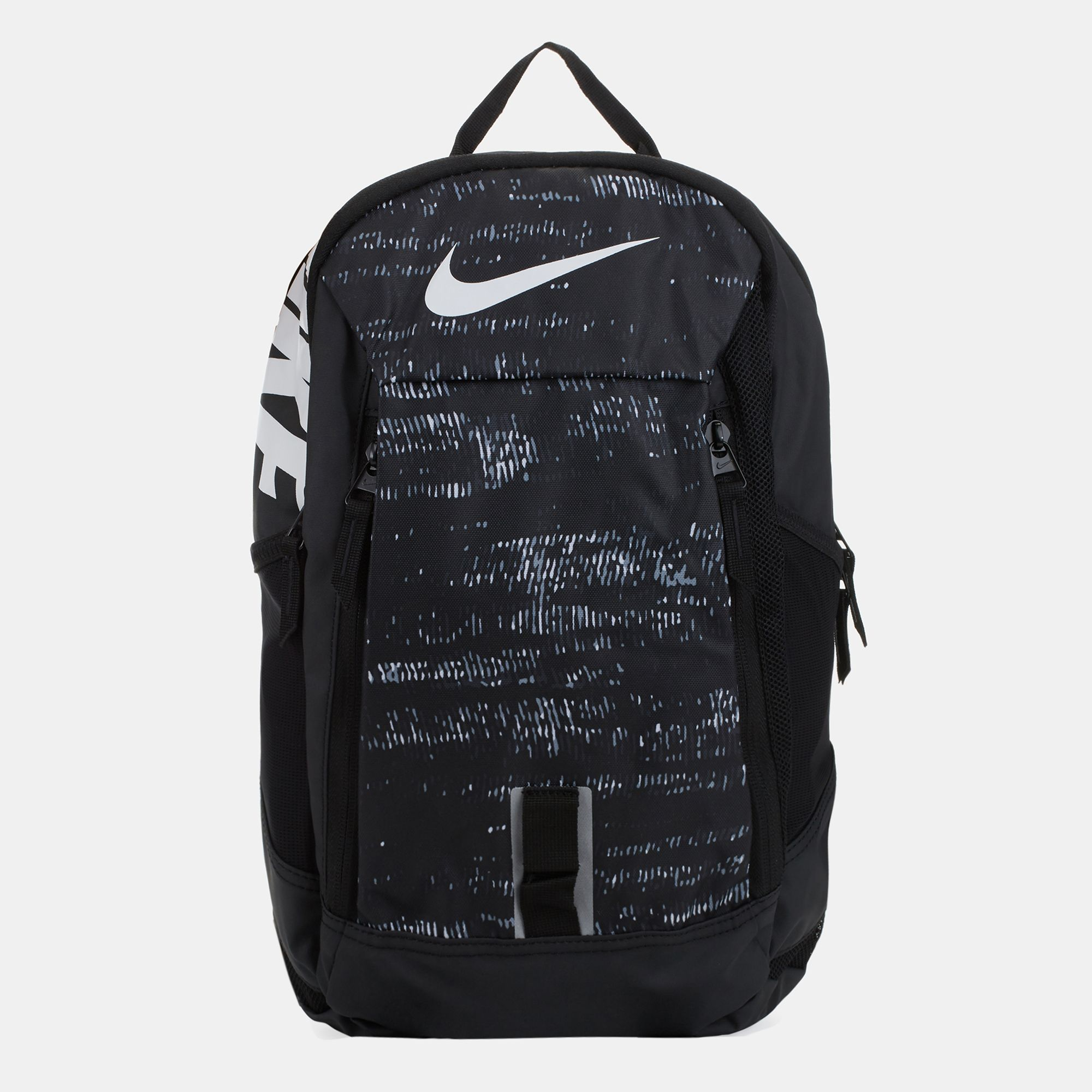 a96ee18ce8 Shop Black Nike Kids  Alpha Adapt Rise Print Backpack for Kids by ...